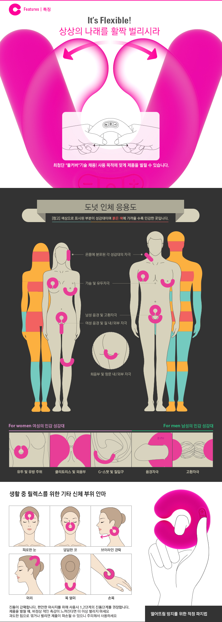 [ZINI] 도넛(DONUT) - Pink