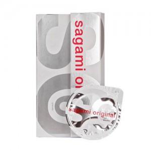 [사가미 오리지널 002 콘돔 1박스(6P)] 0.02mm의 극초박형