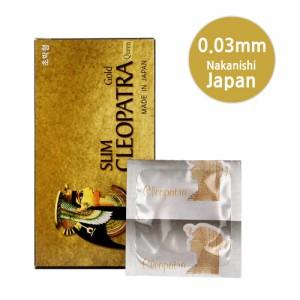 [일본 나가니시] 클레오파트라(10p) 0.03mm의 얇은