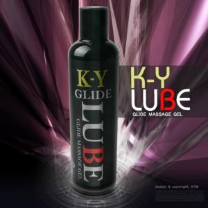 K-Y GRIDE LUBE (케이와이 글라이드) 250ml /