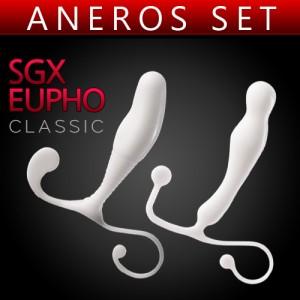 아네로스 SGX+EUPHO 세트상품 - 전립선 마사지 기구