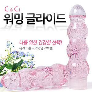 [CeCi] 쎄씨 워밍 글라이드/핑크 - 마사지 로션과
