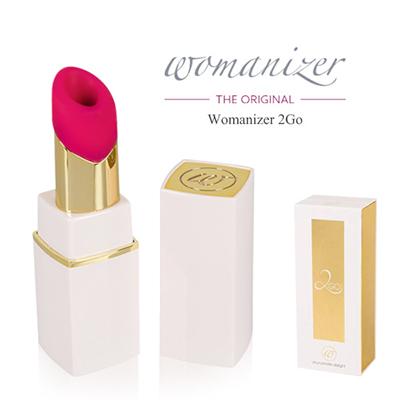 [독일우머나이저] Womanizer 2Go_White Gold - 세계 최초